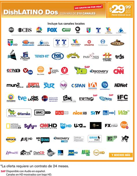 lista de canales dishlatino canales de dishlatino basico newhairstylesformen2014 com