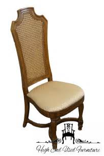 Thomasville Back Dining Chairs by High End Used Furniture Thomasville Ceremony Collection