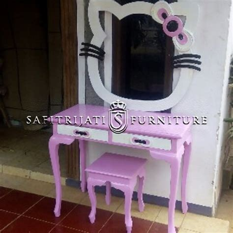 Harga Hello model meja rias hello murah safitri jati furniture