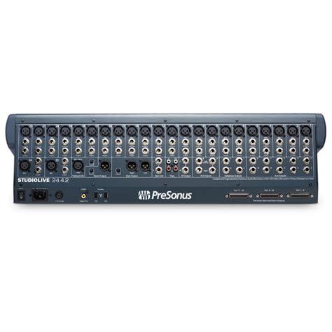 Mixer Di presonus studiolive 24 4 2 mixer di registrazione digitale