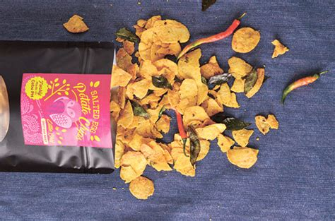 Lebro Salted Egg Potato Chips delightful chips for those who it salty and sweet