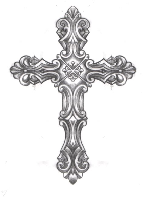 ornate cross tattoo caspian caspiandelooze cross religious ornate cross
