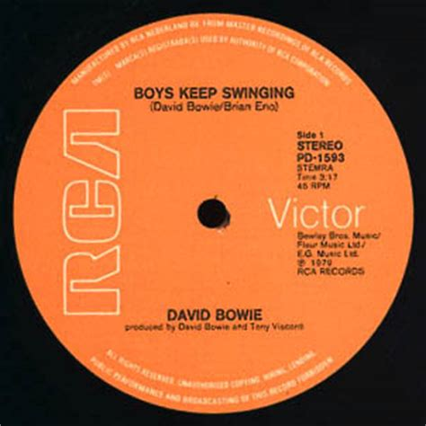 boys keep swinging david bowie illustrated db discography gt boys keep