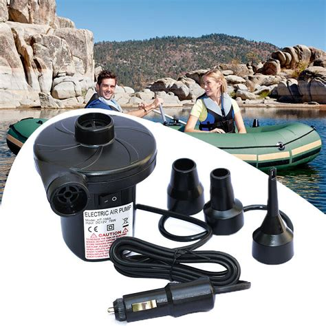 12v dc electric air for air mattress beds boat raft pool ebay