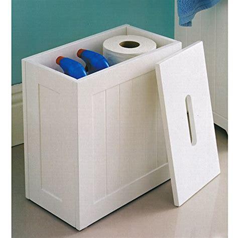 white wooden bathroom storage unit white shaker slimline wooden multipurpose bathroom storage