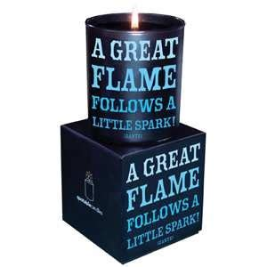 Dante Maxy a great quotable candle currant scent