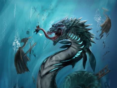 imagenes de criaturas mitologicas del mar monstruos marinos mitol 243 gicos noticias taringa