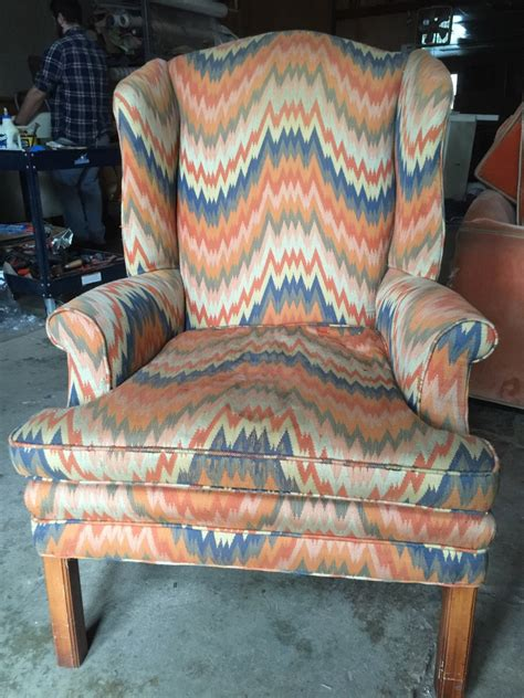 Upholstery Pricing by Cost To Re Upholster A Wing Chair
