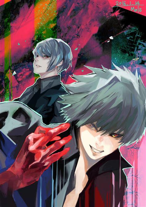 6 Anime Like Tokyo Ghoul by Melo 9ba Kaneki Tsukiyama Tokyo Ghoul
