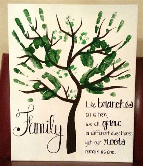 Homemade Christmas Gifts Grandparents - hand and footprint art ideas page 24 of 28 smart house