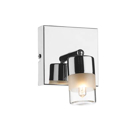Dar Bathroom Lighting Dar Art7150 Artemis 1 Light Chrome Bathroom Wall Light