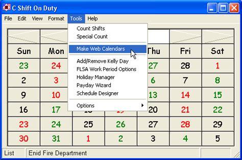 printable kelly schedule 2016 shift calendar firefighter calendar template 2016