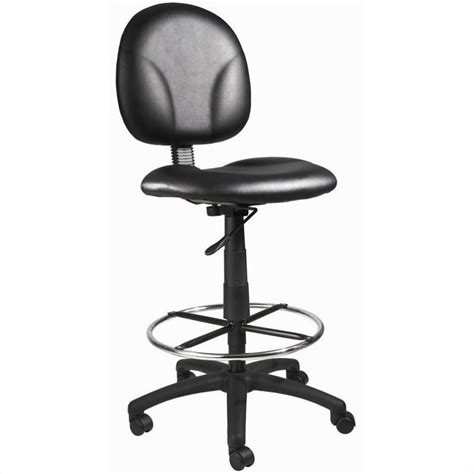 Black Caressoft Stool by Features