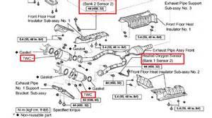 Lexus Locations Lexus Oxygen Sensor Locations Get Wiring Diagram Free