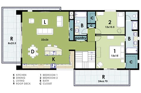 floor plan live modern houses plans home design inside