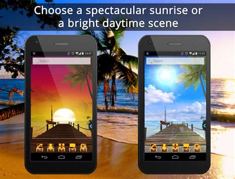 live themes mobil9 download ur 3d beach island live theme google play