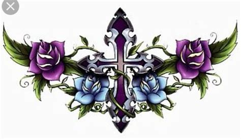 purple cross tattoo 73 best images about s birthday cross on