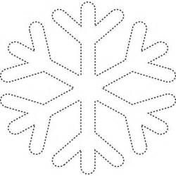 easy snowflake template best photos of easy snowflake template simple snowflake