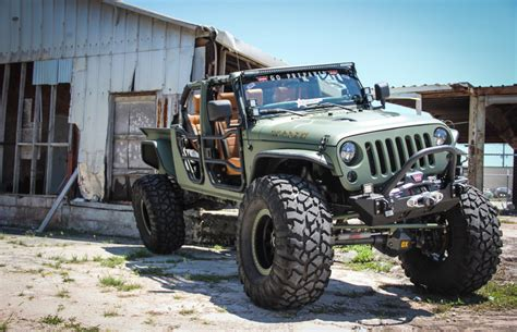 diesel brothers jk crew this 180 000 jeep wrangler pickup is the truck of your