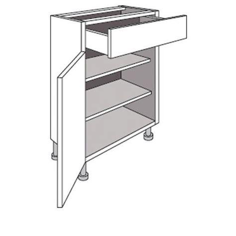 meuble bas cuisine 40 cm profondeur meuble de cuisine bas p 33 cm 1 porte 1 tiroir twist cuisine
