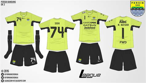 Baju Persib Warna Hitam 1 persib bandung kits league alakazzam kit design