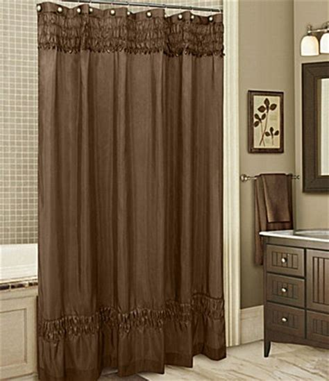 ruched brown shower curtain products i love pinterest