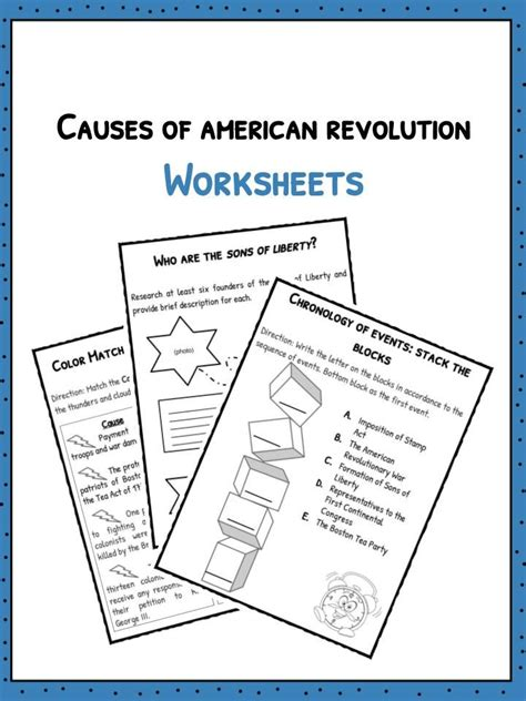 america independence movements worksheet 1000 ideas about causes of american revolution on american teaching american