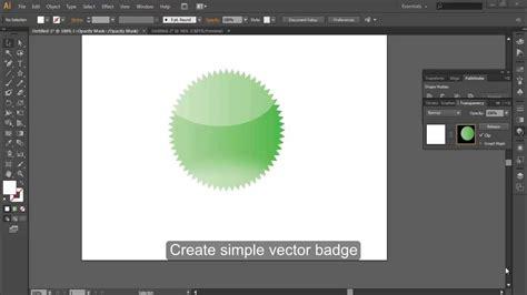 adobe illustrator cs6 youtube create simple badge with adobe illustrator cs6 youtube