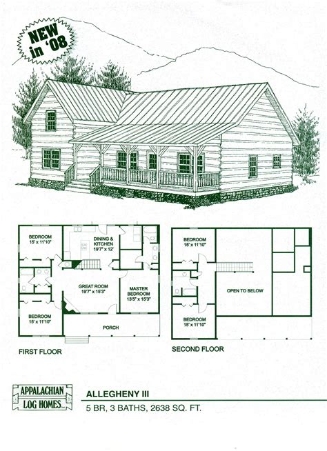 woodwork log cabin floor plan kits pdf plans