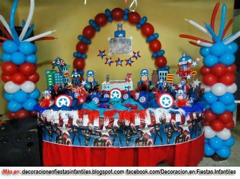 capitan america decoracion ambientacion cotilln fiestas fiesta tem 193 tica capit 193 n am 201 rica cotillon pinterest