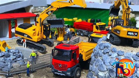 bruder toys mercedes bruder toys construction company cat truck mercedes
