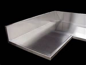 stainless steel countertops seams finishes edges