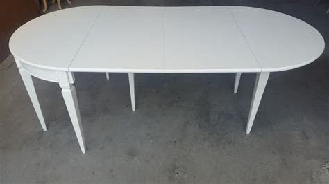 tavolo mezzaluna consolle allungabile mezzaluna in legno di ciliegio e