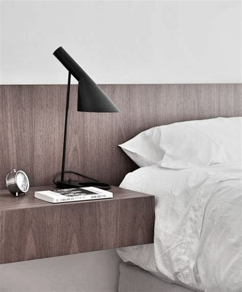 Tete De Lit Table De Nuit by Installer Une Table De Nuit Suspendue Pr 232 S De Lit