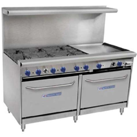 commercial appliances gas electric ranges commercial