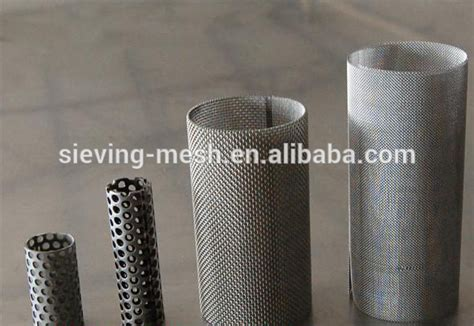 astm 316 cylinder screen strainer stainless steel perforated mesh cylinder perforated filter steel mesh buy