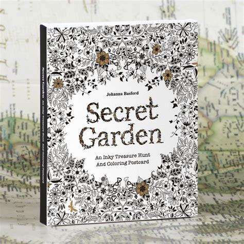 30 sheets set edition secret garden