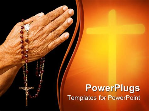 catholic powerpoint templates powerpoint template religious depiction of