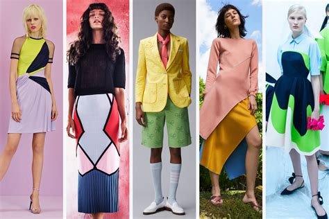 color blocking colour blocking trend 2018 colour 2018