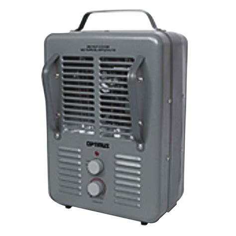utility fan home depot optimus 1300 watt to 1500 watt portable utility fan heater