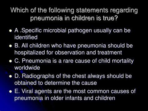 ppt pediatric pneumonia powerpoint presentation id 390700