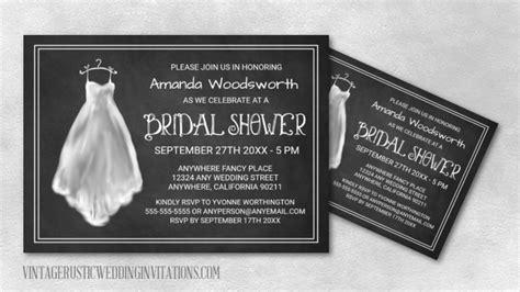chalkboard bridal shower invitations chalkboard bridal shower invitations vintage rustic wedding invitations