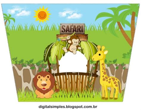 imagenes animales safari kit animales safari para imprimir gratis todo peques