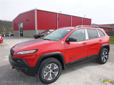firecracker red jeep cherokee 2017 firecracker red jeep cherokee trailhawk 4x4