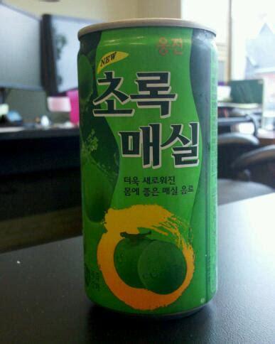 Woongjin Green Plum Plum Hijau 500ml thirsty dudes woongjin green plum