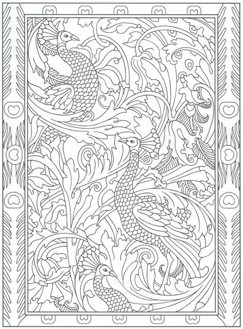 peacock coloring pages for adults peacocks coloring pages and coloring pages for adults on