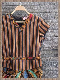 Blouse Blouse Batik Blouse Sogan Blouse Puff batik s apparel collections batik parang blazer with embroidery batik