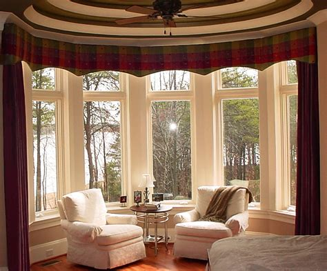 curtains for bay windows in living room bay window curtains for living room