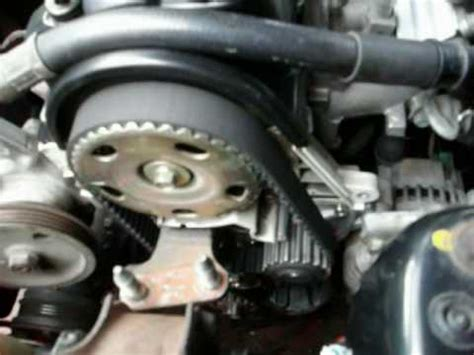Timing Belt Chevrolet Captiva Bensin Non Facelift how to replace a timing belt and water part 2