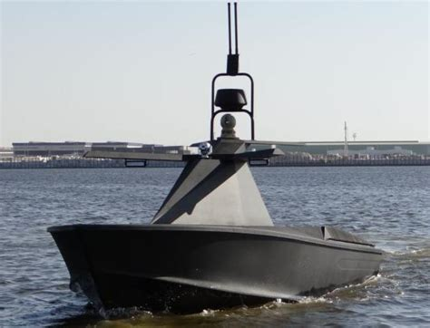 Drone Buat stealth drone boat maritime security review